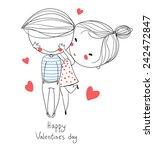 Valentine's Day. Boy And Girl....