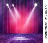 background in show. vector... | Shutterstock .eps vector #242502577