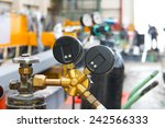 atmosphere in the construction  ... | Shutterstock . vector #242566333
