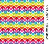 digital paper for scrapbook... | Shutterstock . vector #242641273