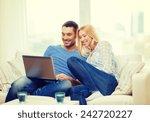 love  family  technology ... | Shutterstock . vector #242720227
