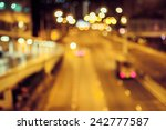 beautiful out of focus light of ... | Shutterstock . vector #242777587