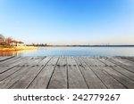Skyline And Lake Near Resort I...