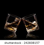 Isolated Shots Of Whiskey...