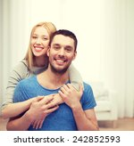 love and family concept  ... | Shutterstock . vector #242852593