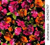 flower pattern   Shutterstock . vector #242902747