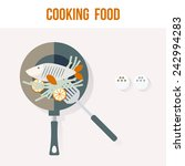 Cooking Fish Recipe Card Desig...