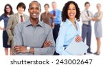 group of business people team.... | Shutterstock . vector #243002647