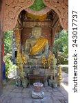 buddha statue in complex of
