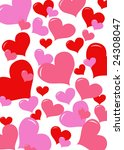valentine's background | Shutterstock .eps vector #24308047