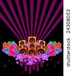 disco star | Shutterstock .eps vector #24308053