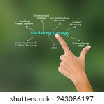 marketing strategy | Shutterstock . vector #243086197