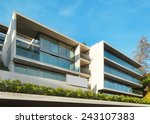 modern architecture  building ...   Shutterstock . vector #243107383