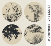 Set Of Circles With Trees And...
