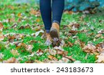 Autumn Fall Concept With...