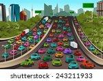 a vector illustration of... | Shutterstock .eps vector #243211933