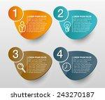 info graphics vector design...   Shutterstock .eps vector #243270187
