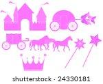 illustration of toys | Shutterstock .eps vector #24330181