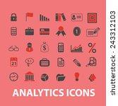 analytics  business... | Shutterstock .eps vector #243312103