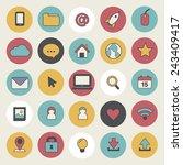 social media user interface...