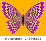 Colorful Butterfly  Optical...