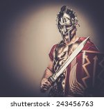 Legionary Soldier Ready For A...