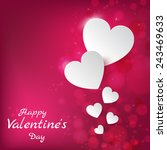 happy valentines day. 14... | Shutterstock .eps vector #243469633