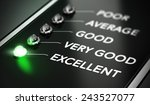 excellent quality concept ... | Shutterstock . vector #243527077