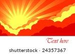 sky background | Shutterstock .eps vector #24357367