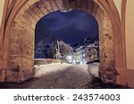 Night Scenes Of Wintry Bamberg...