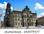 dresden  germany   june  20th ... | Shutterstock . vector #243579577