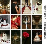 Twelve Wedding Themed Images