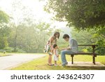 happy asian family enjoying...   Shutterstock . vector #243624307
