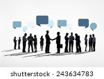 business collaboration... | Shutterstock . vector #243634783