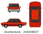 illustration of different view...   Shutterstock .eps vector #243658027