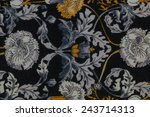 fabric background and texture | Shutterstock . vector #243714313