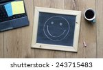 happy at the office | Shutterstock . vector #243715483