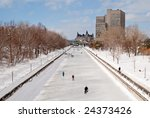 The Rideau Canal In Ottawa ...