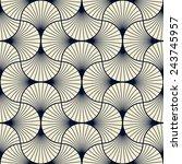 seamless vintage pattern of... | Shutterstock .eps vector #243745957