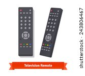 retro remote control at... | Shutterstock .eps vector #243806467
