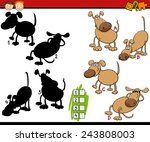 cartoon vector illustration of... | Shutterstock .eps vector #243808003