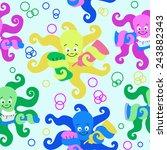 octopus | Shutterstock .eps vector #243882343