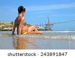 pregnant woman | Shutterstock . vector #243891847