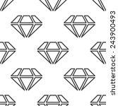 diamond  seamless pattern  can... | Shutterstock . vector #243900493