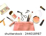 Постер, плакат: make up bag with