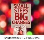 Small Steps Big Changes Card...