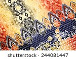 fabric pattern | Shutterstock . vector #244081447