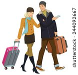 on vacation | Shutterstock . vector #244092667