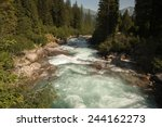 Downstream River  Krimml...