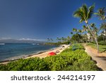 Kapalua Beach On The West Coas...